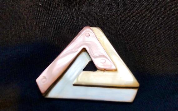 Spirit island, triforce, witcher medallion, zelda svg, zelda amibo, 9mm brass, pendentif, copper pyramid, celebration of life, bague or