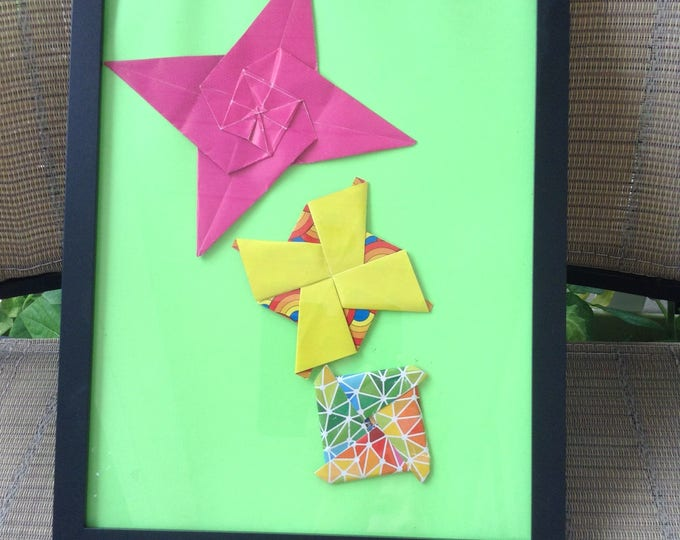 psychic artist/pattern designs in picture frame.Mixed media 3D/psychic lover