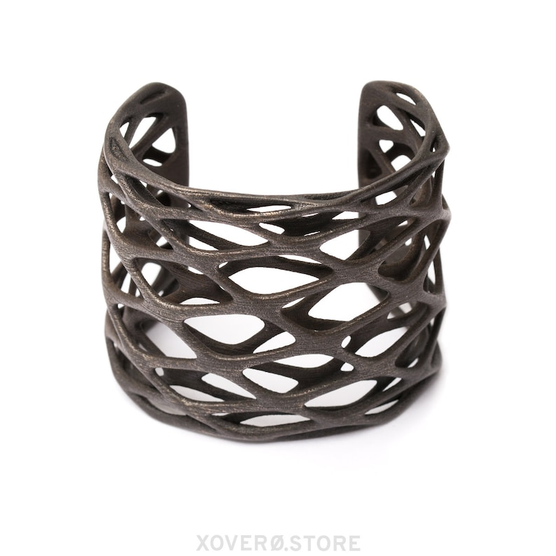 Galaxie 3d Printed Steel Bracelet