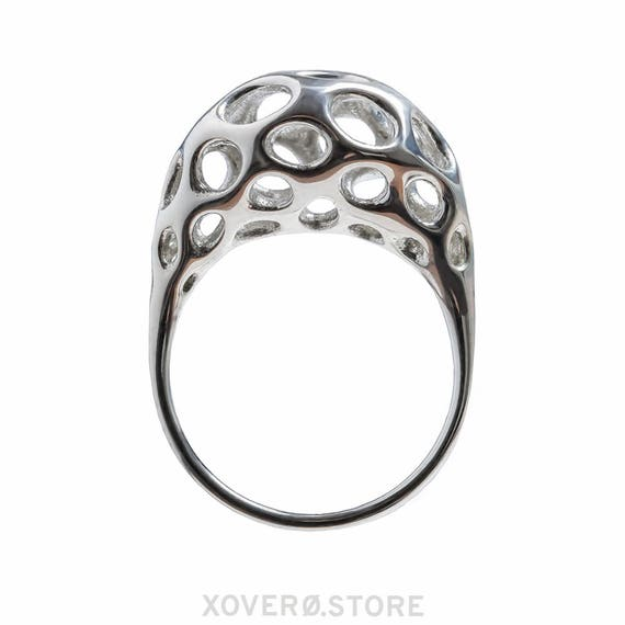 Orpheus Ring Sterling or Gold Plated