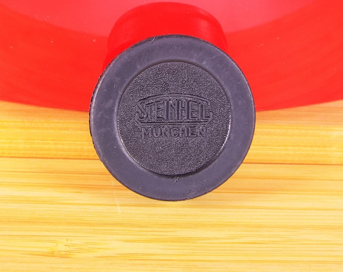 Genuine Steinheil Munchen 39mm Push On Rear Lens Cap - Original Hard to Find Cap - Perfect for your collection - Free USA Shipping!
