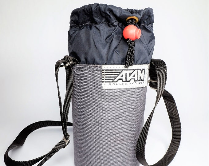 Very Nice Padded Nylon Atan Telephoto & Zoom SLR Lens Case w/ extra long adjustable strap - 6.5 x 3.5 Inches overall - Free USA Shipping!