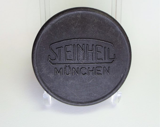 Genuine Steinheil Munchen 57mm Push On Front Lens Cap - Original Hard to Find Cap - Perfect for your collection - Free USA Shipping!