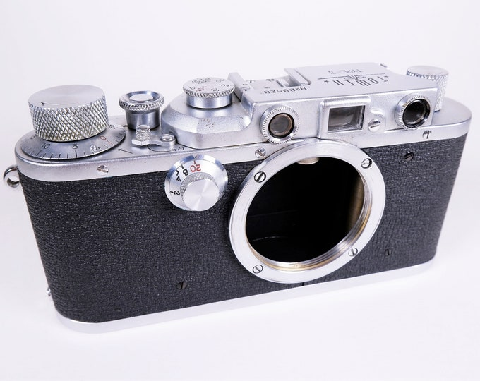 "Nicca-Tower Type-3 35mm Rangefinder Film Camera - Early ""Made in Occupied Japan"" Model from about 1951 - Super Clean - Nice Collectors Item"