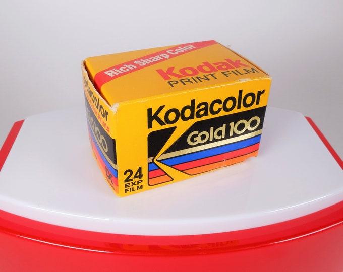 Vintage Kodak Kodacolor Gold 100 Color Negative Film - 24 Exposures - Expired 11/1990 - Original Unopened Box - Nice - Free USA Shipping!