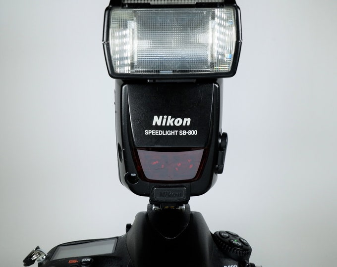 Nikon AF Speedlight SB-800 Professional Electronic Flash Unit - 100% Tested & Fully Working - Nikon D800, D810, D7100, D80, D200 and More