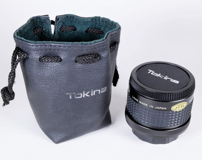Vintage RMC Tokina Doubler (2X) for Canon FD Mount Lenses - with Tokina Drawstring Case & Caps - Mint Condition - Glass Optics - Very Nice