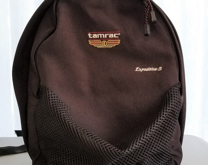 Vintage Tamrac Expedition 5 Backpack Heavy Duty Camera Bag - Large Zippered Padded Compartments - Perfect Bag for Professionals