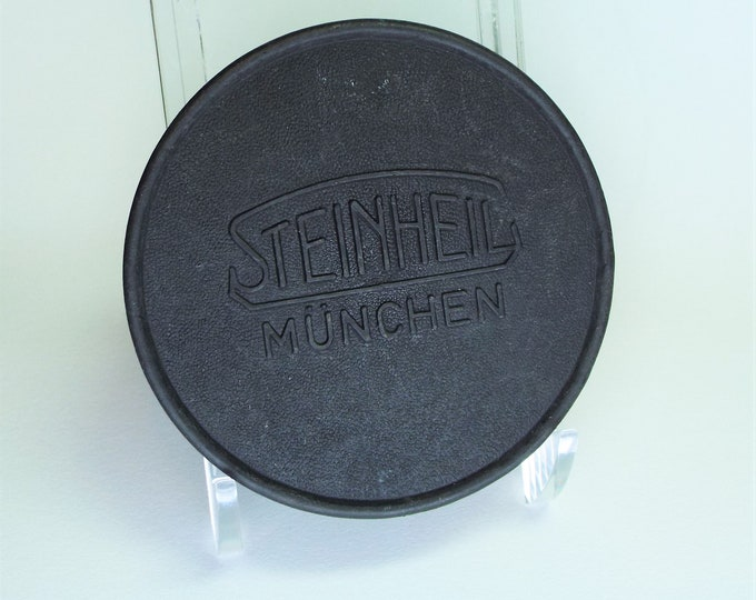Genuine Steinheil Munchen 60mm Push On Front Lens Cap - Original Hard to Find Cap - Perfect for your collection - Free USA Shipping!