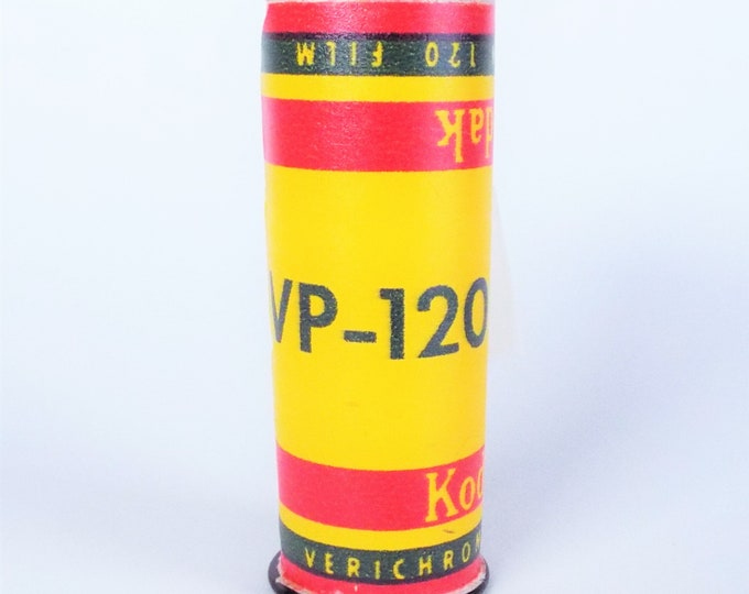 Vintage Kodak Verichrome Pan 120 Film - VP-120 - Open Unexposed Roll - Makes a great display piece or shoot expired film - Free USA Shipping