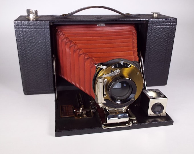 Vintage 1909 Kodak Folding Brownie Camera No. 3-A Model A - Excellent Condition - A Classic from Kodak