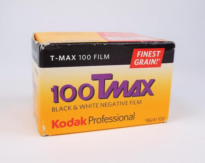 Kodak Professional 100 T-Max Black & White Film - 36 Exposures - Expired 11/2012 - Original Unopened Box Properly Stored - Fine Grain Film