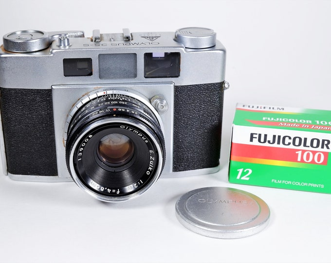 Tower 10 / Olympus 35-S II Rangefinder 35mm Camera - Rare Dual Branded Model c1959 - Super Clean - Free Fujifilm & Free USA Shipping!