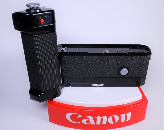 Canon Motor Drive MF for the Original Canon F-1 - Excellent Cosmetic Condition - Not Fully Working - Sold for Parts, Repair or Display