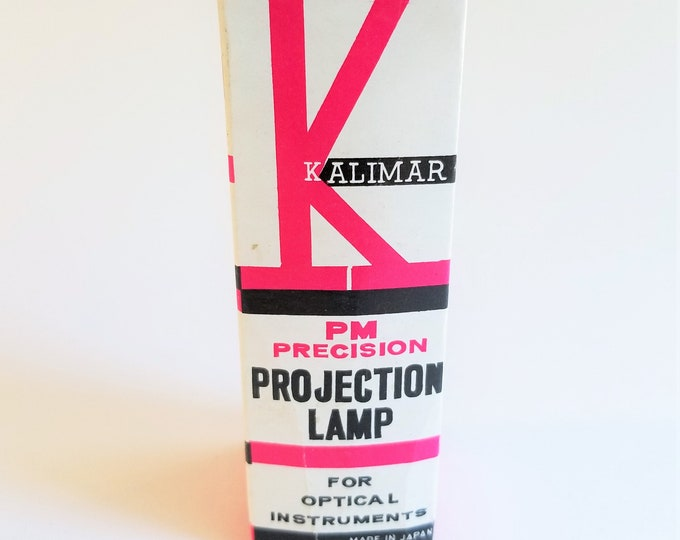Vintage Kalimar CZA 115-120V Projection Lamp - Made in Japan - Looks Unused in Original Box - Untested