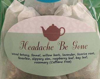 Headache Be Gone Tea