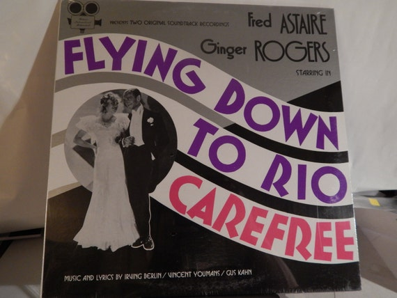 Flying Down To Rio Carefree Fred Astaire Ginger Rogers Etsy