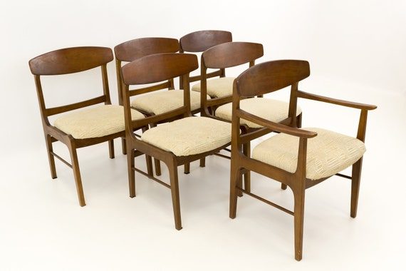 Stupendous Stanley Mid Century Dining Chairs Set Of 4 Mcm Short Links Chair Design For Home Short Linksinfo