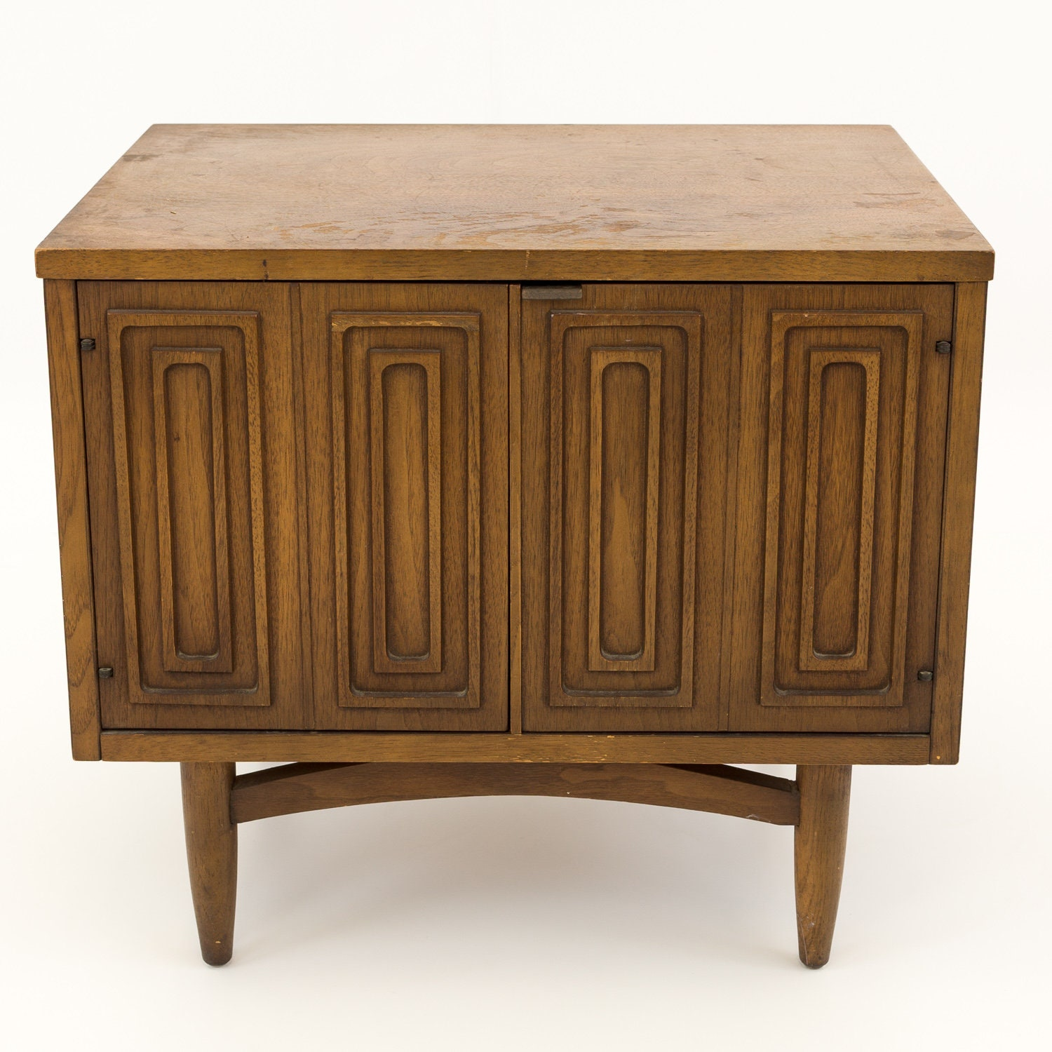 Broyhill Premier Sculptra Mid Century Nightstand Mcm
