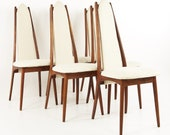 Adrian Pearsall for Craft Associates Dining Chairs - Set of 6 - mcm