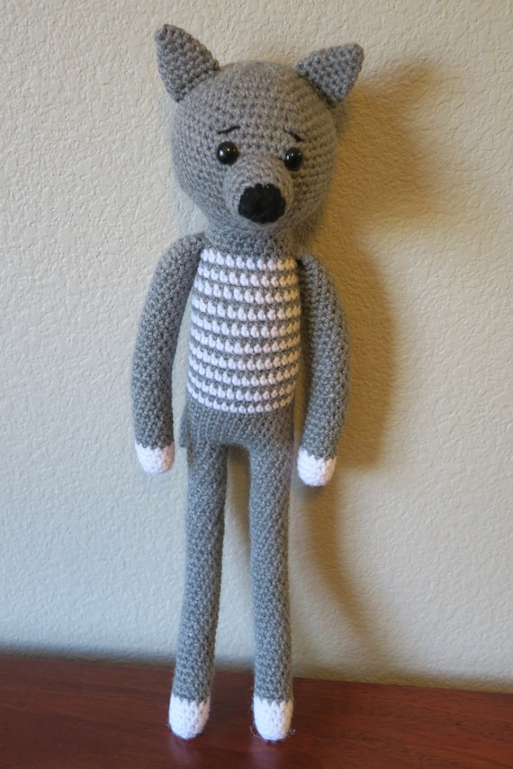 AMIGURUMI CROCHET PATTERN • wolf and fox • forest animal ... | 855x570