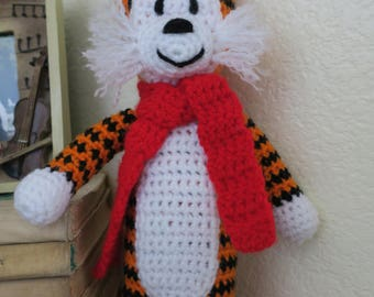 Crochet  stuffed tiger