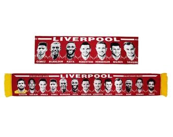 Liverpool Premier Squad 2020 SCARF HD