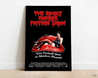df699a6db79 Rocky Horror Picture Show Movie Poster Fine Art Color Portrait Print - Wall  Art - Movie Posters