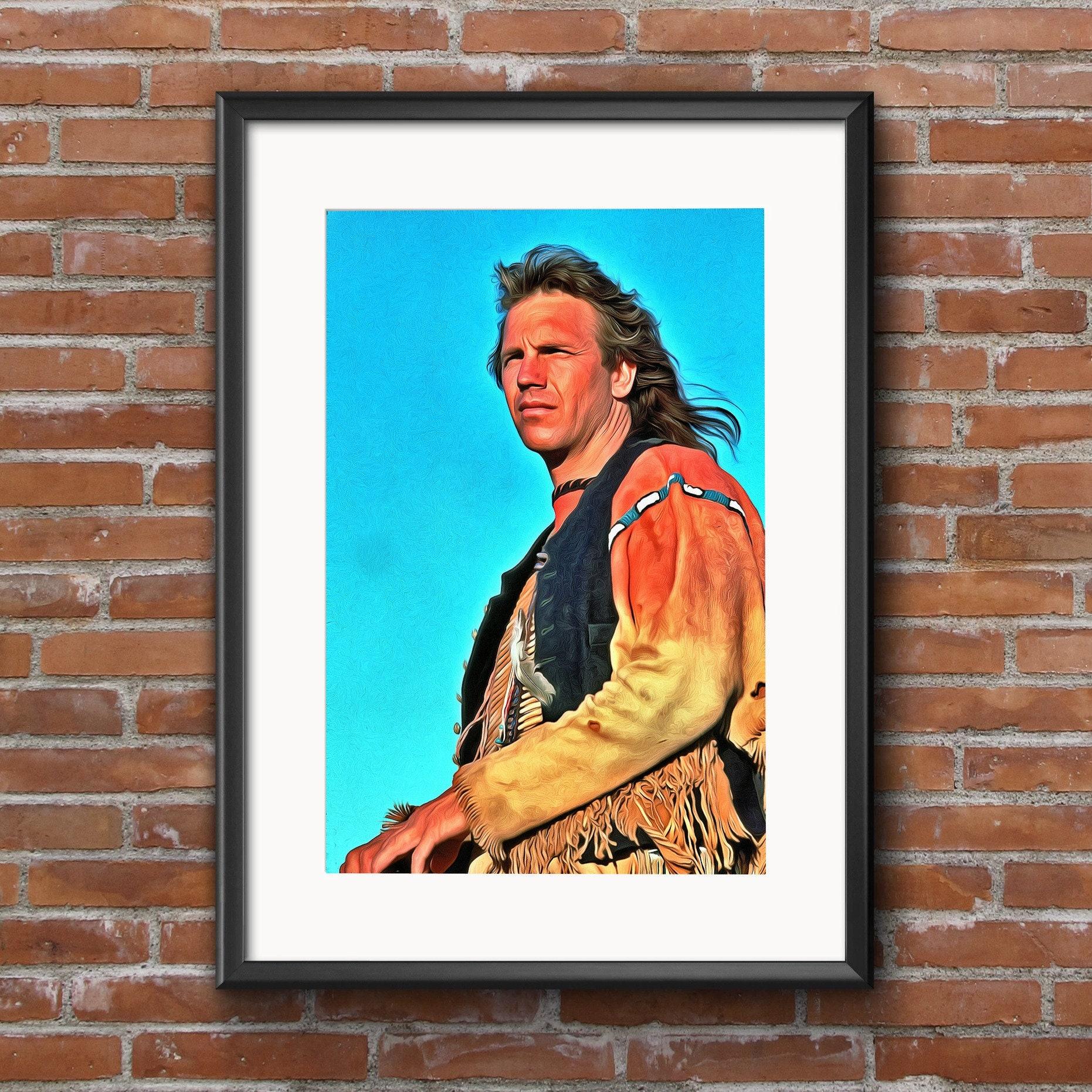 Phil Lynott Canvas Poster 13x19 Inch Fine Art Portrait Print Wall Decor