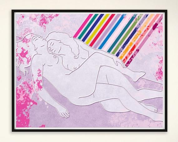 kunst lesben sex