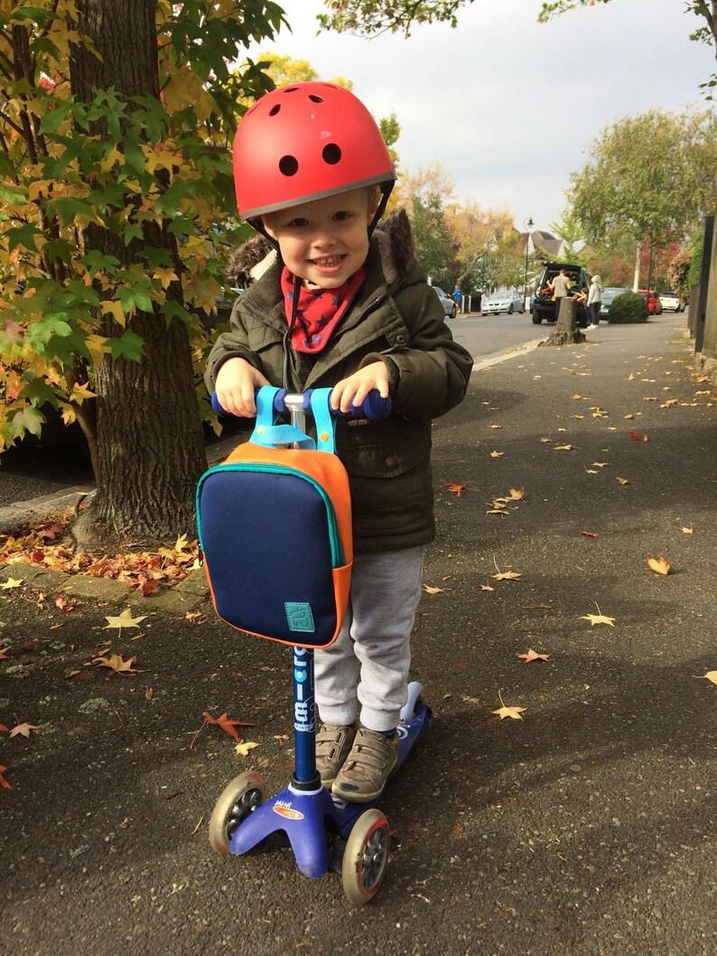 Kids scooter bag backpack lunch bag toy bag image 0