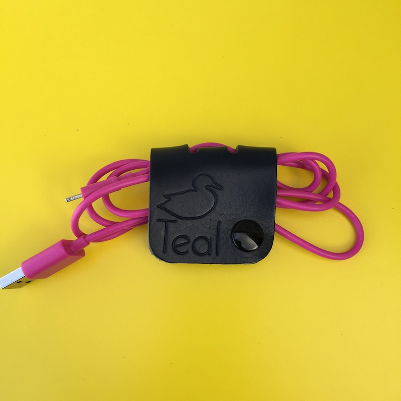 Leather cable tidy image 0