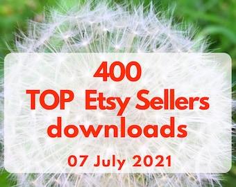 Top Etsy sellers, Etsy best sellers Downloads, Digital. 2 PDF files for 2020, 2021