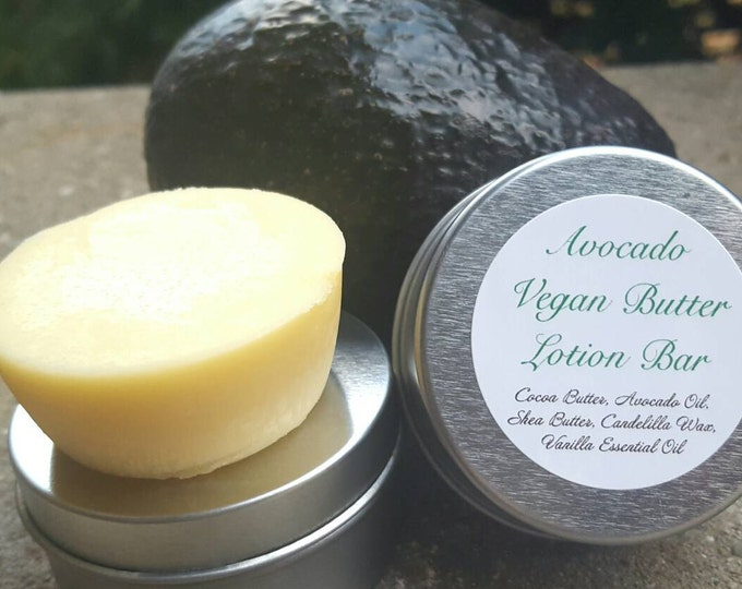 Lotion Bar | Vegan Avocado Lotion | Local pickup only | Moisturizing Bar | Body Lotion | Local Pick Up until October | Solid Lotion | Vegan