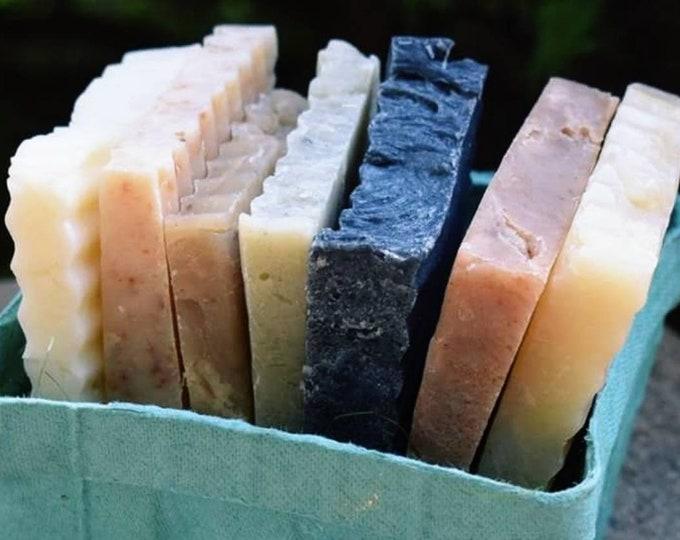 Soap Samples | Soap Pieces | Handmade Soap | Artisan Soap | Soap Surprise Basket | Soap Slivers | Soap Set | Soap Basket | Natural Soap Gift