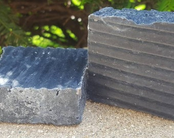 Activated Charcoal and Sea Salt Soap Bar