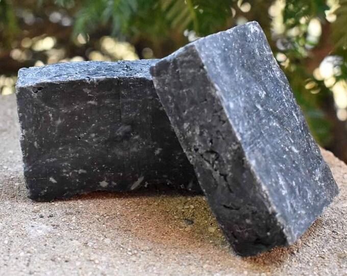 Lemongrass Activated Charcoal and Sea Salt Soap Bar