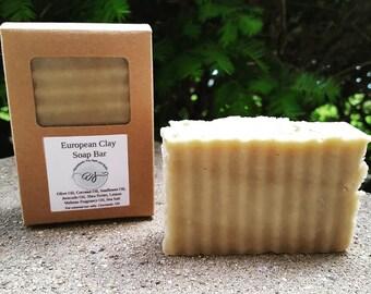 Lemon European Clay Soap Bar | Vegan Clay Soap