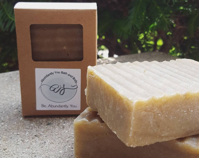 Featured listing image: Rhassoul Clay Shampoo Bar | Coconut Milk and Rhassoul Clay Natural Solid Shampoo Bar