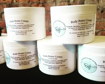 Body Butter Cream | Skin Butter | Hair Butter | Local Pick Up until October 2018 | Best Body Butter | Homemade Body Butter | Shea Butter
