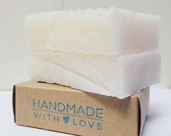 Organic Coconut Oil Vegan Soap Bar
