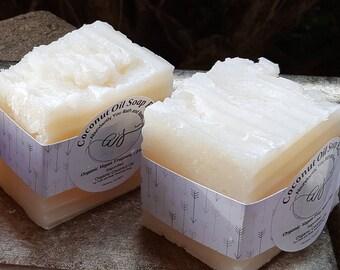 Organic Coconut Oil Soap Bar