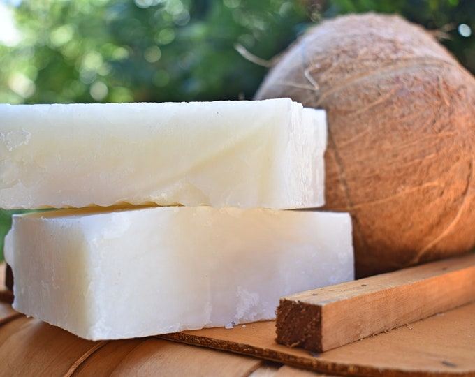 Coconut Oil Vegan Soap Bar Now Made with Organic Coconut Milk