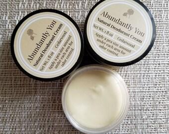 Cedarwood Deodorant, Natural Deodorant, Handmade Deodorant, Aluminum Free