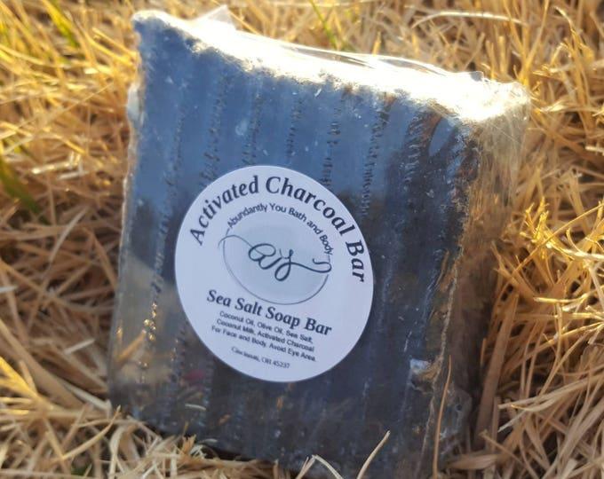 Activated Charcoal Soap | Vegan Soap | Self Care | Coconut Milk Soap | Handmade Soap | Natural Soap | Rustic Soap | Soap Gift