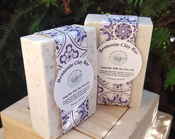 Bentonite Clay Soap Bar | Goat Milk Soap | Bentonite Clay | Handmade Soap | Natural Soap | Clay Soap | Top Selling