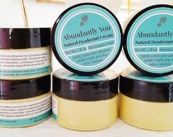 Natural Deodorant Lemon Mint | Aluminum Free, Gentle