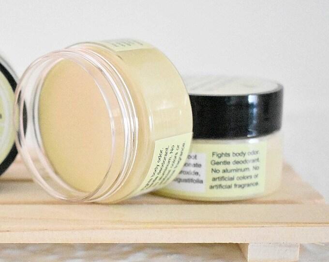 Natural Deodorant, Jasmine Essential Oil, Aluminum Free