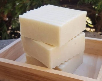 Vegan Soap | Kaolin Clay Soap Bar | White Kaolin Clay | Vegan | Palm Oil Free | Artisan Soap | Homemade Soap | Natural Soap