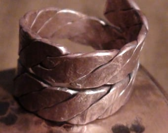 Antique Twisted Wire Rings